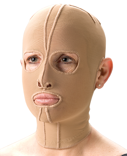compression therapy face mask